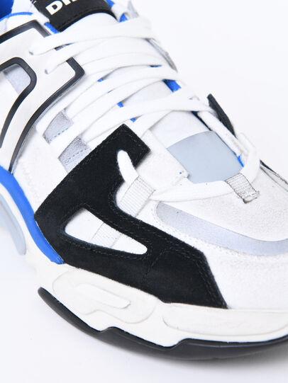 Diesel - S-KIPPER LOW TREK II, White/Black - Sneakers - Image 4