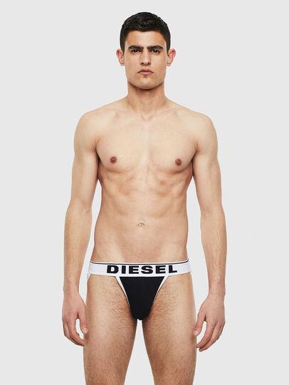 Diesel - UMBR-JOCKYTHREEPACK, Black/White - Jockstraps - Image 2