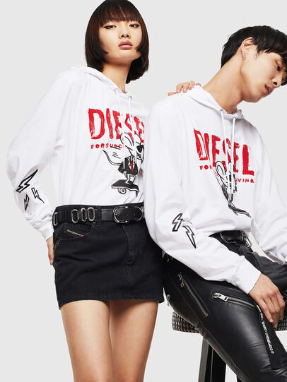 Diesel - CL-T-JUST-LS-HOOD,  - T-Shirts - Image 5