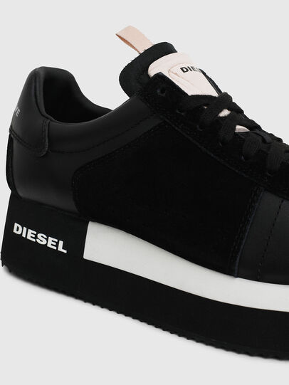 Diesel - S-PYAVE WEDGE, Black - Sneakers - Image 4