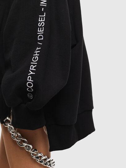 Diesel - F-JUSTIN, Black - Sweaters - Image 5