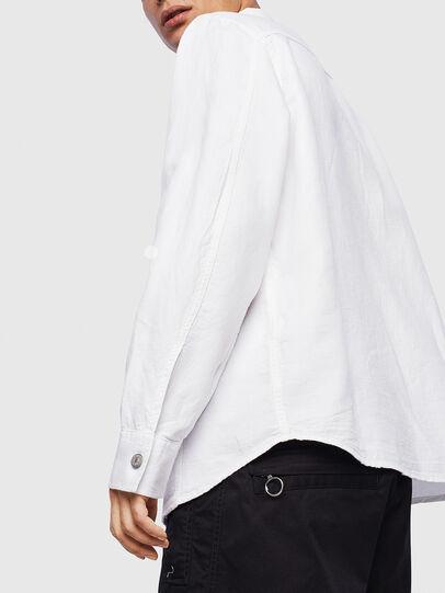 Diesel - D-FLOX, White - Denim Shirts - Image 5