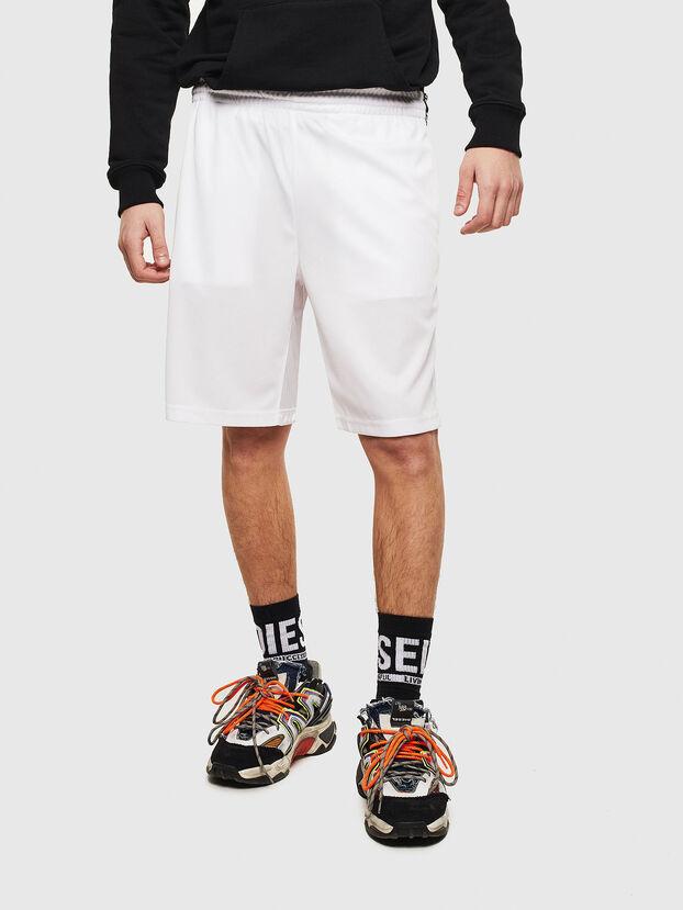P-HITOSHI-S1, White - Shorts