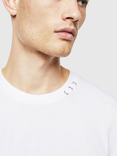Diesel - T-GROSSI, White - T-Shirts - Image 3