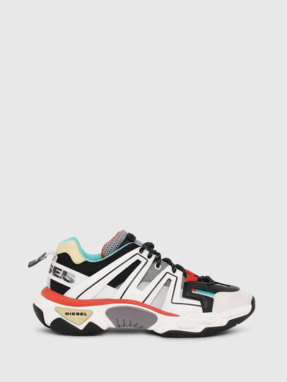 Diesel - S-KIPPER LOW TREK, White/Black - Sneakers - Image 1