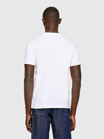 Diesel - T-DIEGOS-K11, White - T-Shirts - Image 2