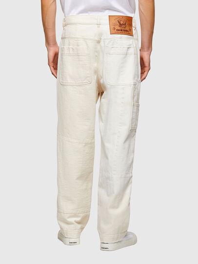 Diesel - D-FRAN-SP1, White - Pants - Image 2