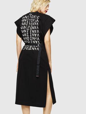 D-FLIX-B, Black - Dresses
