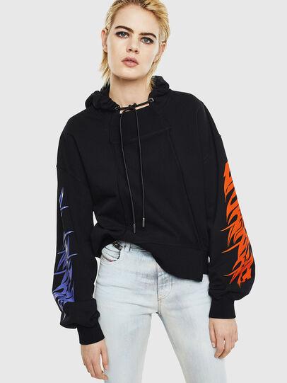 Diesel - F-KREEN, Black - Sweaters - Image 1