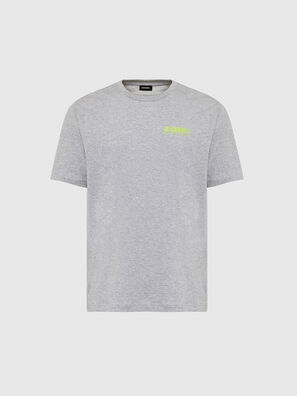 T-JUST-SLITS-X84, Grey - T-Shirts