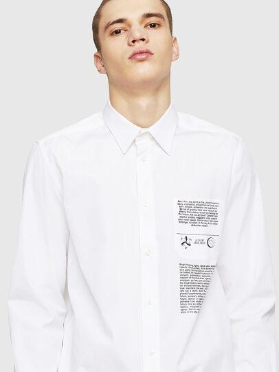 Diesel - S-VEN-PRINT, White - Shirts - Image 4