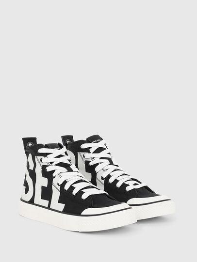Diesel - S-ASTICO MC W, Black/White - Sneakers - Image 2