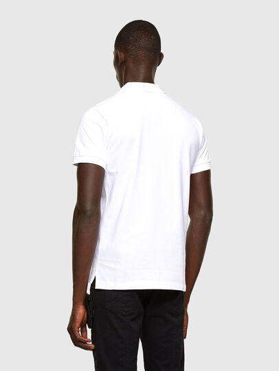 Diesel - T-RANDY-NEW-A2, White - Polos - Image 3