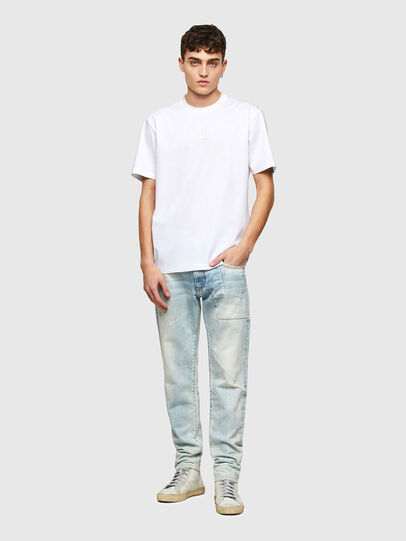 Diesel - T-JUST-E7, White - T-Shirts - Image 4