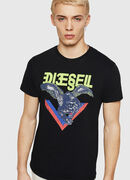 T-DIEGO-A4, Black - T-Shirts