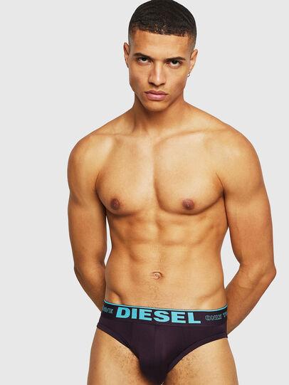 Diesel - 55-DBRIEF, Dark Violet - Briefs - Image 1