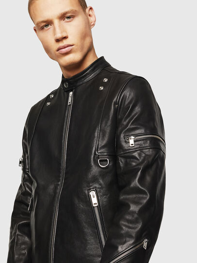 Diesel - L-TOVMAS,  - Leather jackets - Image 3