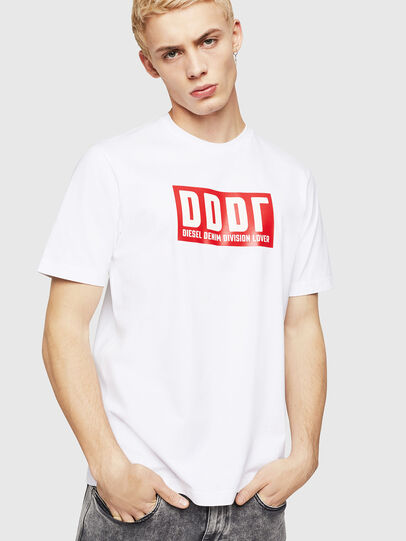 Diesel - T-JUST-A9, White - T-Shirts - Image 1