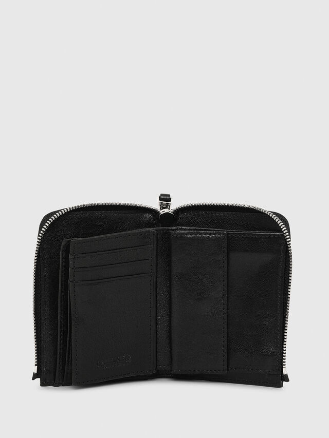 Diesel L-12ZIP, Black - Small Wallets - Image 3