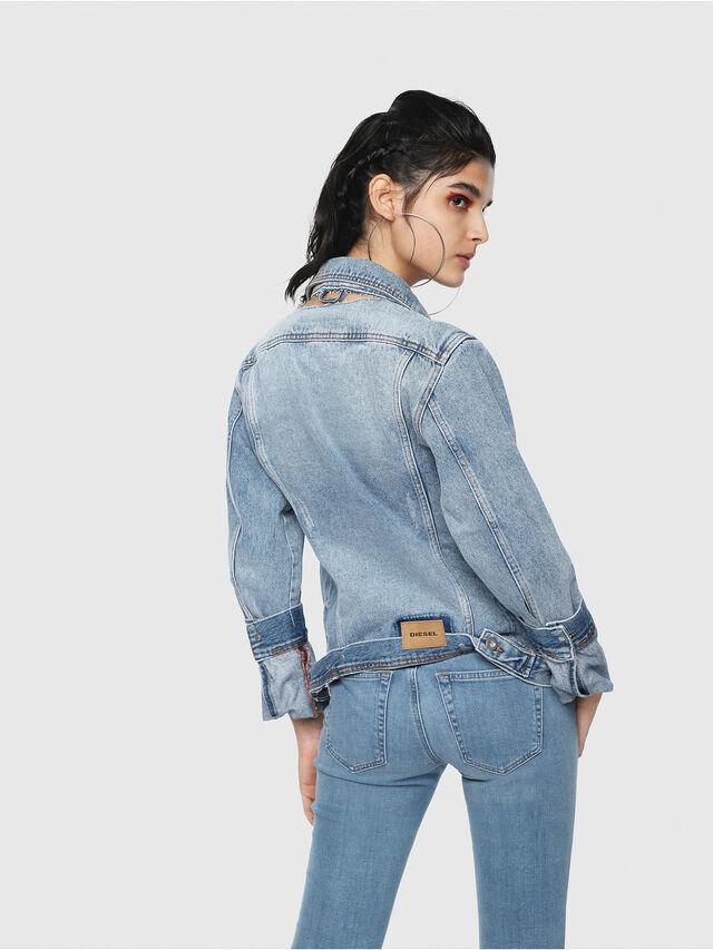 Diesel - DE-NALINI, Blue Jeans - Denim Jackets - Image 2
