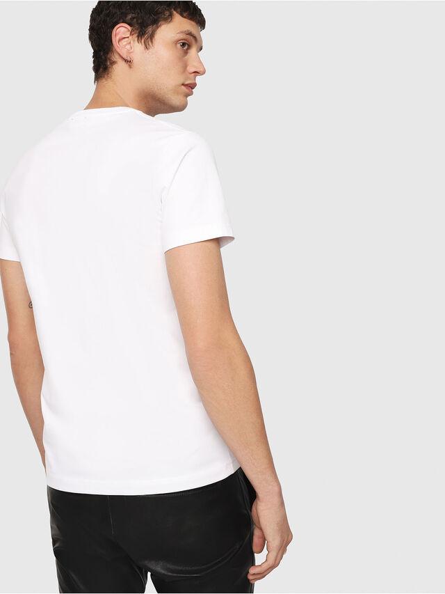 Diesel T-DIEGO-QA, White - T-Shirts - Image 2