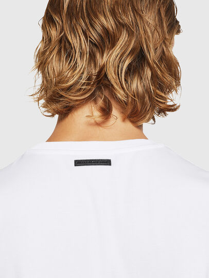 Diesel - TEORIALE-X3, White - T-Shirts - Image 5