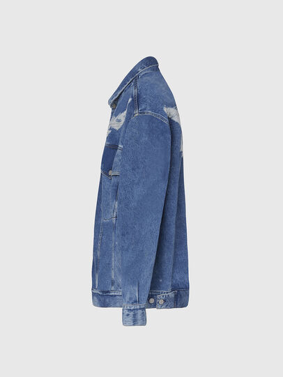 Diesel - D-RAF, Medium blue - Denim Jackets - Image 3