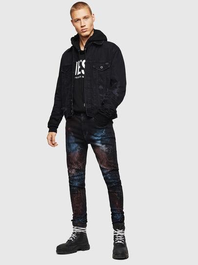 Diesel - D-Amny 0093D, Black/Dark grey - Jeans - Image 7