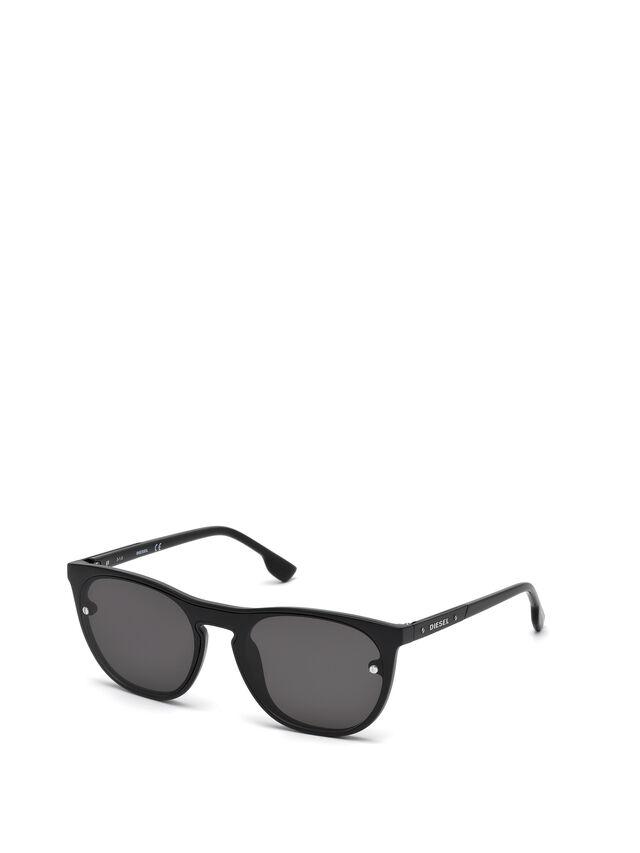 Diesel - DL0217, Black - Eyewear - Image 4