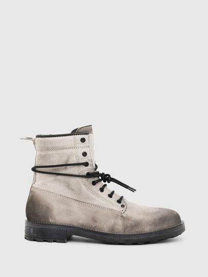Diesel - D-THROUPER DBB, Grey - Boots - Image 1