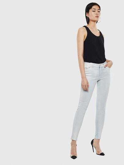 Diesel - Slandy 0099W, Light Blue - Jeans - Image 5