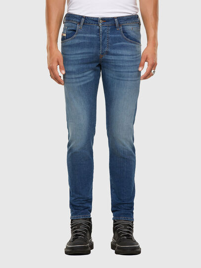 Diesel - D-Bazer 009DB, Medium blue - Jeans - Image 1