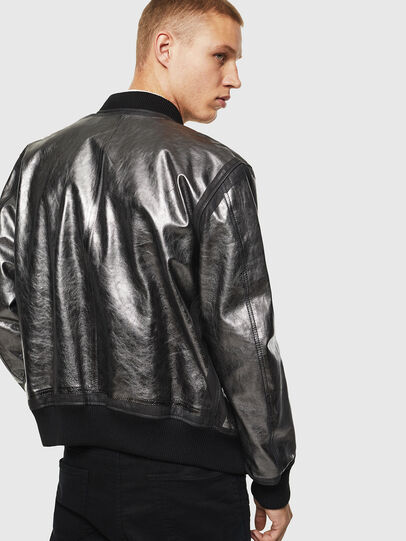 Diesel - L-STEWARD-FOIL,  - Leather jackets - Image 2