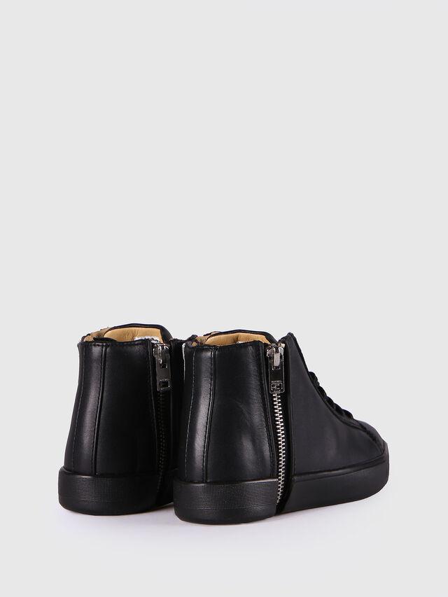 KIDS SN MID 24 NETISH CH, Black - Footwear - Image 3