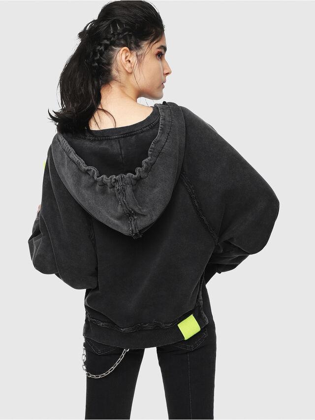 Diesel - F-CAROL, Black - Sweaters - Image 2