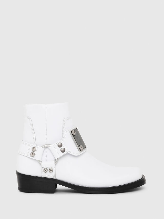 Diesel - D-BIOYS MC, White - Boots - Image 5