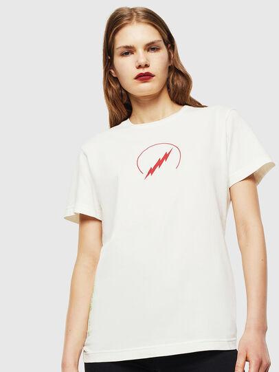 Diesel - T-DIEGO-J5, White - T-Shirts - Image 2