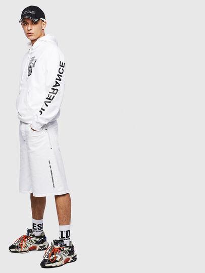Diesel - S-GIRK-HOOD-S4, White - Sweaters - Image 8