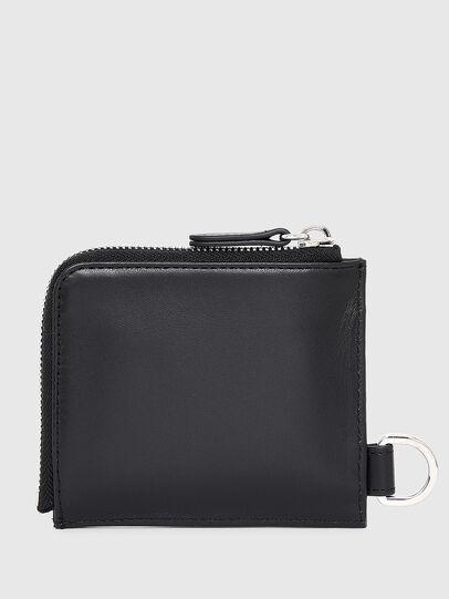 Diesel - L-ZIP CHAIN, Black - Zip-Round Wallets - Image 2