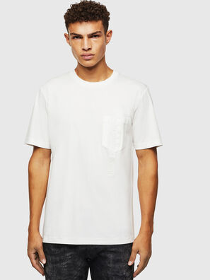 T-JUST-POCKET-J1, White - T-Shirts