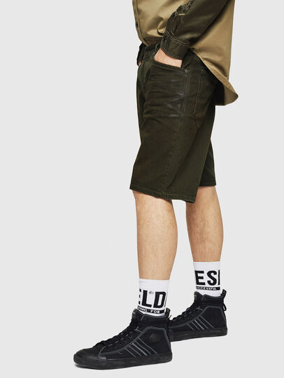 Diesel - D-WILLOH, Dark Green - Shorts - Image 5