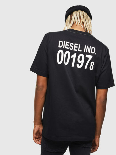 Diesel - T-JUST-VINT, Black - T-Shirts - Image 2