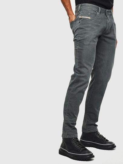 Diesel - D-Bazer 0699P, Green Melange - Jeans - Image 4