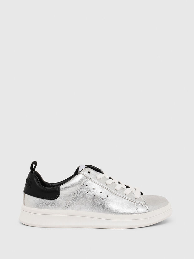 SN LOW LACE 11 FULL, Silver/Black - Footwear