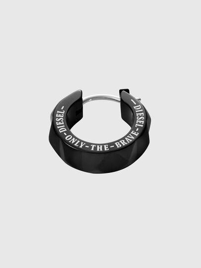 Diesel - DX1273, Black - Earrings - Image 2