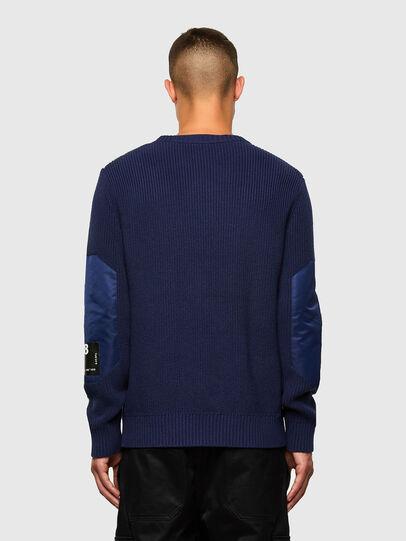 Diesel - K-GILLING, Blue - Knitwear - Image 2