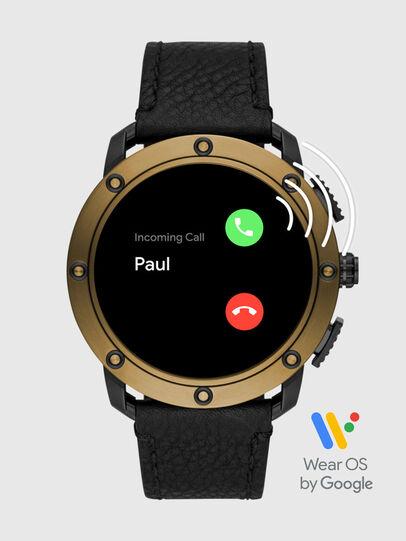 Diesel - DT2016, Black/Bronze - Smartwatches - Image 7