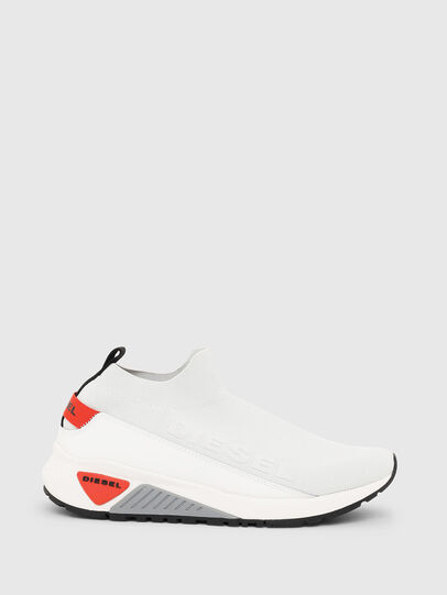 Diesel - S-KB SOCK QB, White/Grey - Sneakers - Image 1