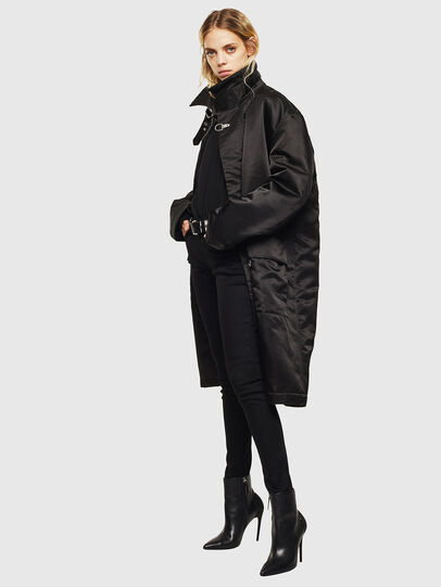 Diesel - W-ADAM, Black - Winter Jackets - Image 8