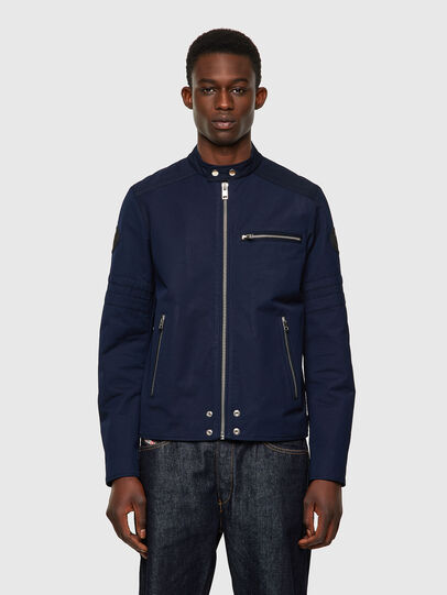 Diesel - J-GLORY, Dark Blue - Jackets - Image 1